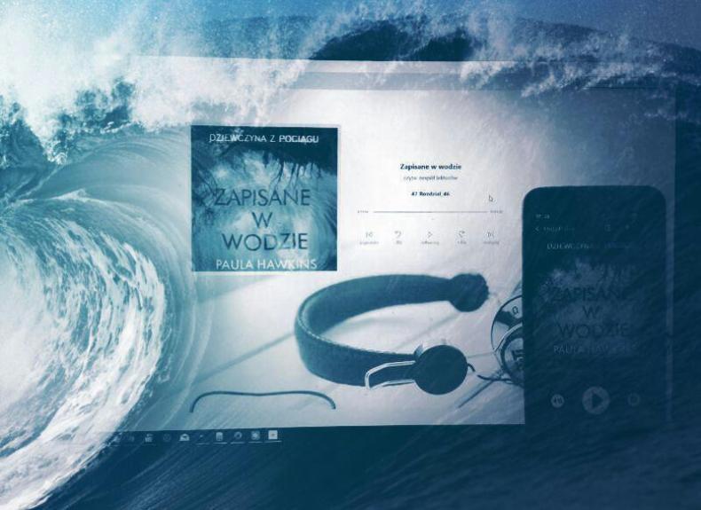 Zapisane w wodzie - audiobook
