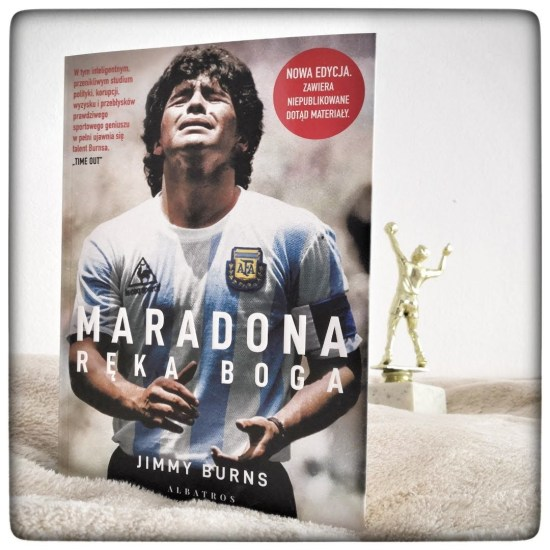 Maradona. Ręka Boga - Jimmy Burns - czytoholik