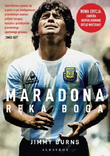 Maradona. Ręka Boga - Jimmy Burns