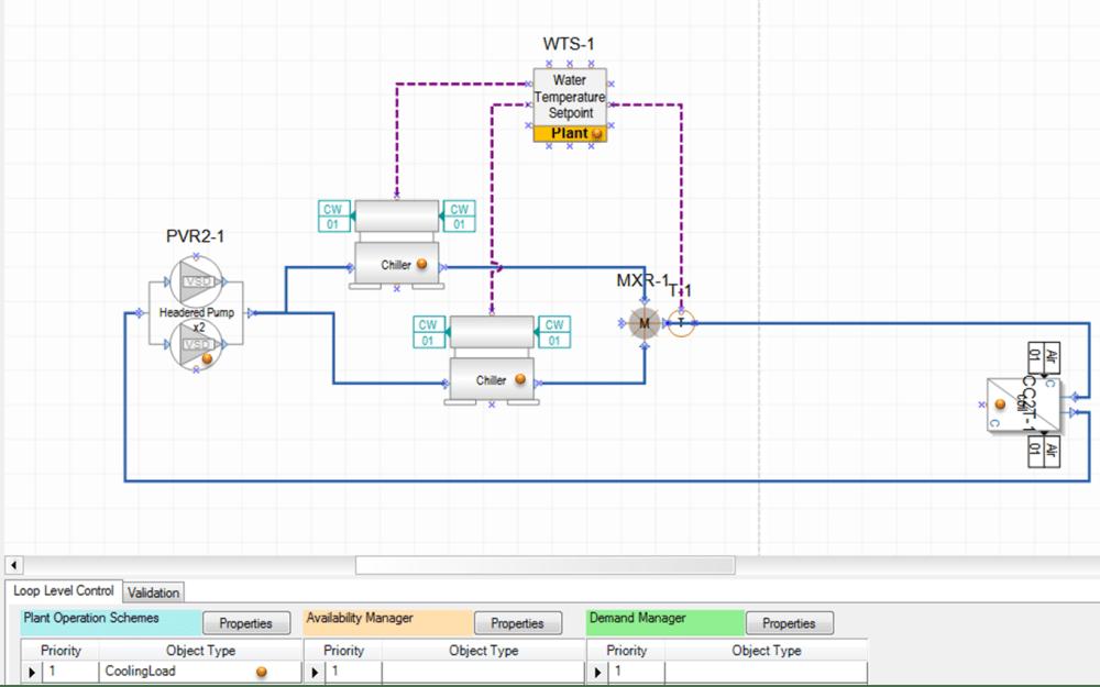 medium resolution of chilled water loop system diagram