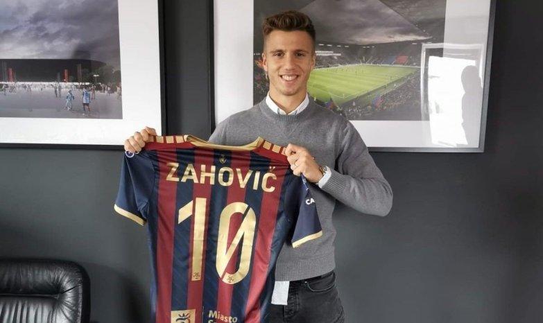 Luka Zahović wPogoni Szczecin. Słoweńcy wyprzedzili szczeciński klub |  Gol24