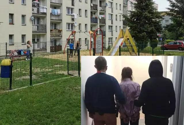Policjanci zatrzymali 65-latka podejrzanego o próbę uprowadzenia dzieci na placu zabaw w Libiążu