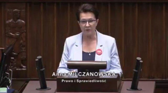 Poseł Anna Milczanowska