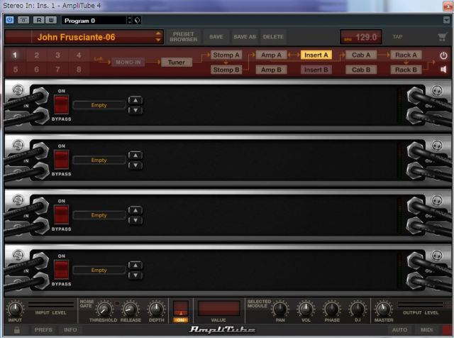 IK Multimedia Amplitube 4 John-insertA