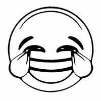 Emoji Beso Para Colorear 800x600