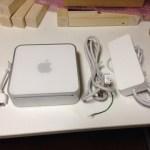 Mac mini 届いた。