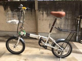 ミニベロ(自転車)のサドル交換した。