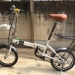 【ミニベロ】自転車のサドルをスプリング付きのものに交換