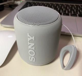 ソニー SRS-XB10 ワイヤレスポータブルスピーカーを入手。