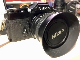 フィルムカメラ「Nikon FM」が生えてきた!