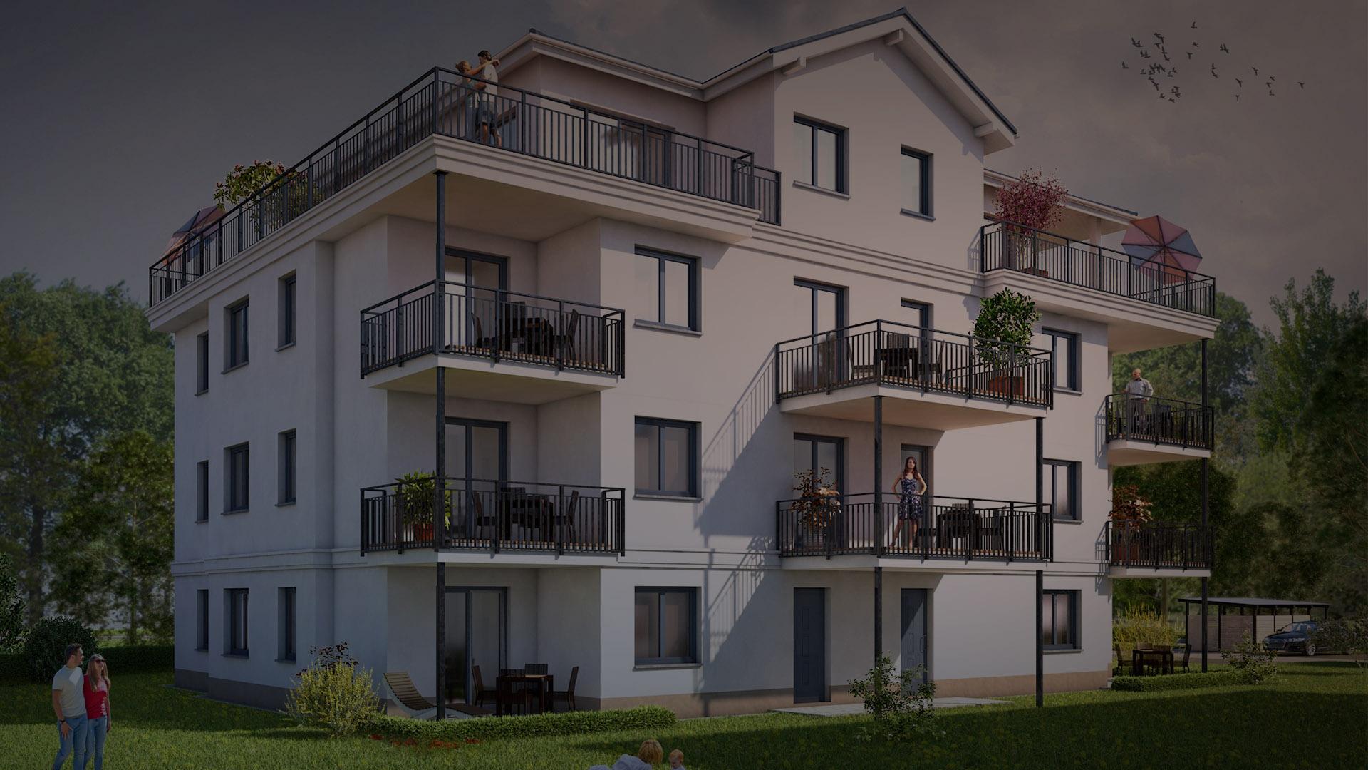 4 Raum Wohnung Haus 1 Ackerstrae in Cottbus DHAUS