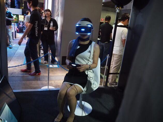 VR コンテンツ プレイステーションVR ゲーム 音楽 映画 オキュラスリフト