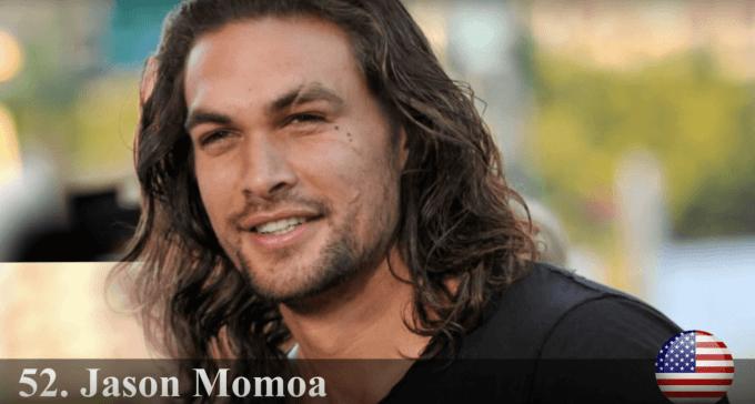 ジェイソン・モモア 世界で最もハンサムな顔100人