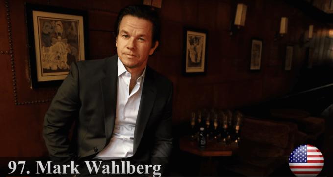 マーク・ウォールバーグ 世界で最もハンサムな顔100人