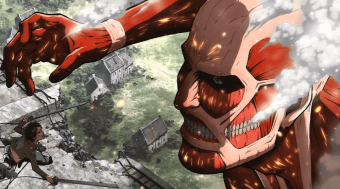 進撃の巨人、アニメ