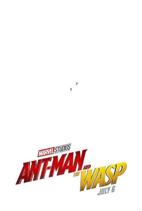 映画『アントマン&ワスプ』のポスター画像
