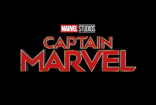 映画『キャプテン・マーベル』のポスターロゴ画像
