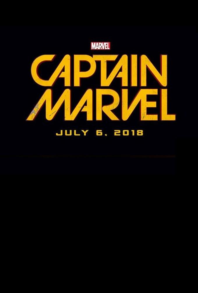 2019年公開マーベル映画『キャプテン・マーベル』のロゴ画像