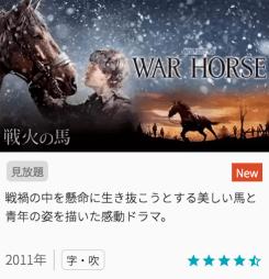 映画戦火の馬の見どころと画像