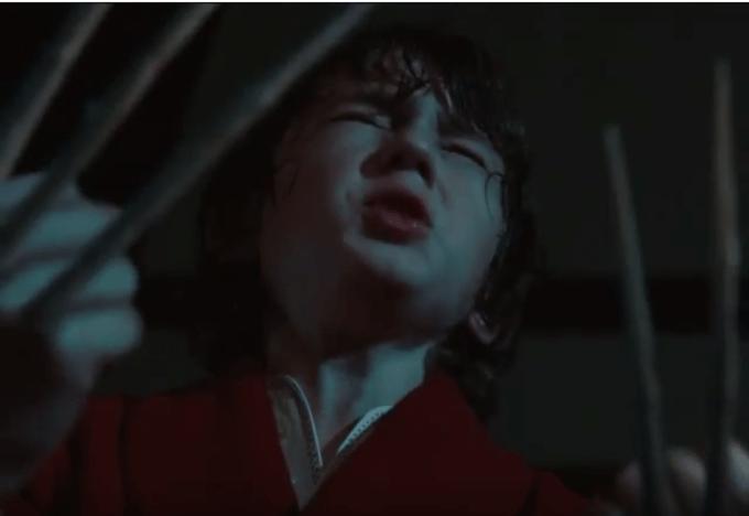 X-MENの主人公ウルヴァリンの少年時代の画像
