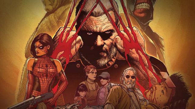 X-MENシリーズ10作目ウルヴァリン3作目に使われる原作シリーズの画像