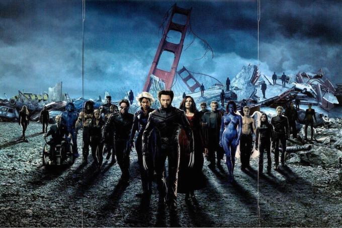 X-MEN映画シリーズの全キャスト一覧