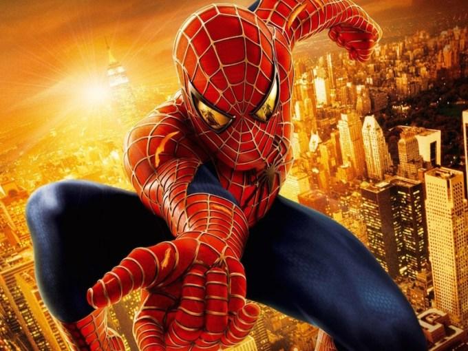 マーベル映画の一番人気スパイダーマンの画像