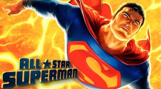 スーパマンのアニメ作品オールスタースーパーマンの画像