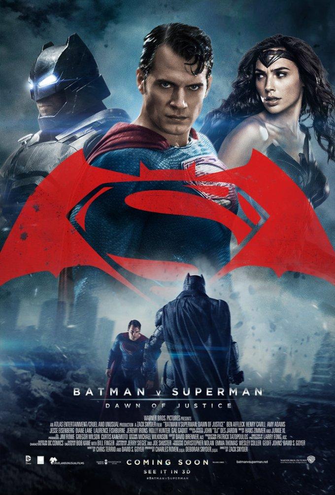DCコミックス映画バットマンvsスーパーマン ジャスティスの誕生の登場人物と画像