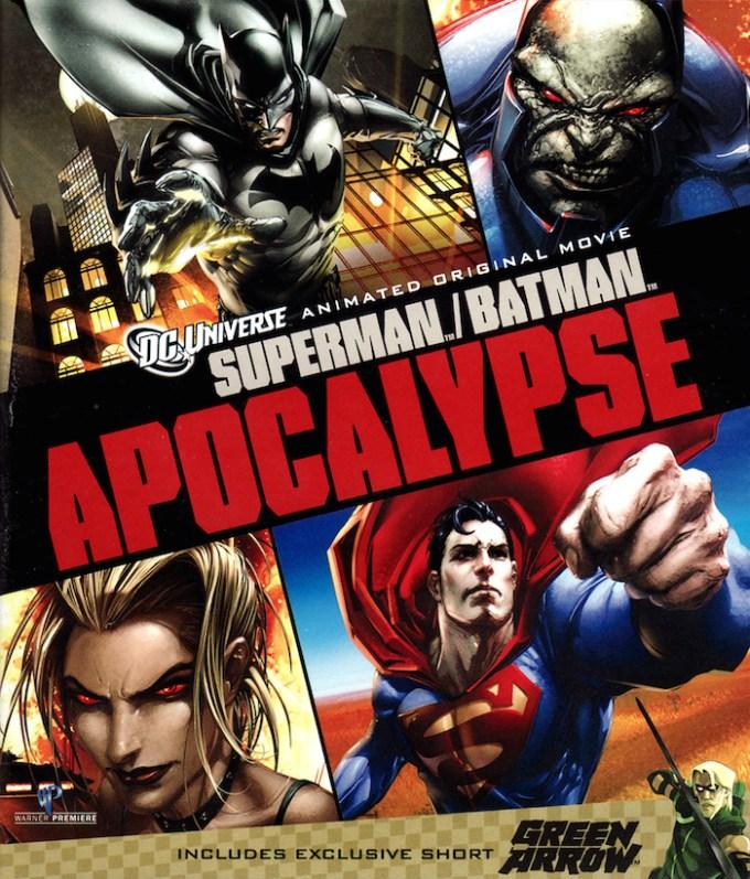 DCコミックスの人気アニメ作品スーパーマン/バットマン:アポカリプスの画像