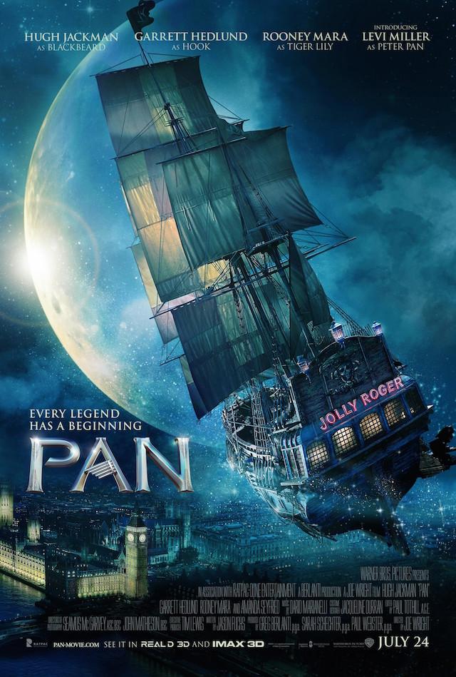 ファンタジー映画『ピーターパン(ネバーランド)』の登場人物と画像
