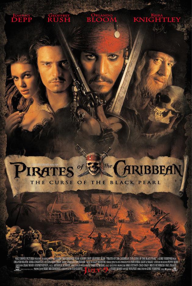 映画『パイレーツ・オブ・カリビアン/呪われた海賊たち』の登場人物と画像