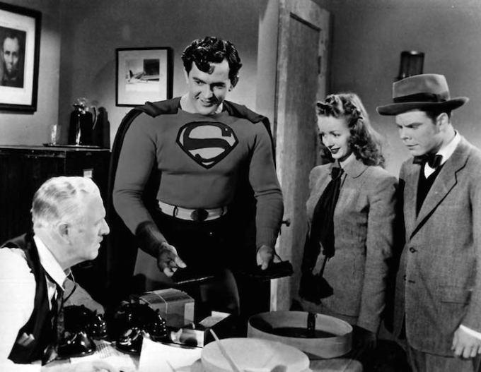 初代スーパーマン映画カーク・アレンの画像