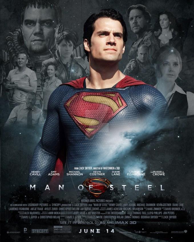 アメコミ映画スーパーマンの登場人物と画像