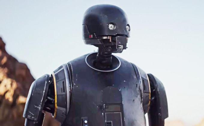 スターウォーズ映画ローグワンの登場人物K-2SOの画像