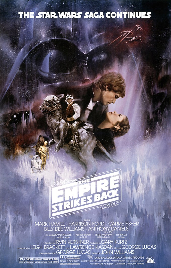 映画第2作目『スター・ウォーズ エピソード5/帝国の逆襲』の登場人物と画像