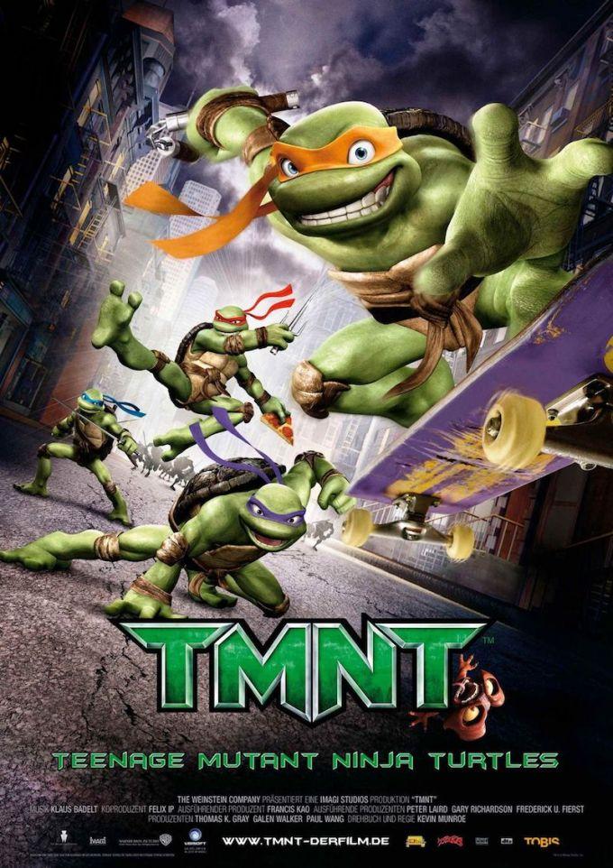 映画『ミュータント・タートルズ -TMNT-』(2007年)の登場人物と画像