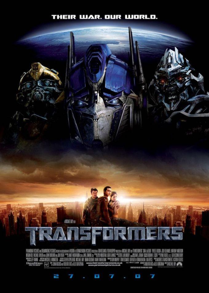 映画シリーズ第1作目『トランスフォーマー』の登場人物と画像