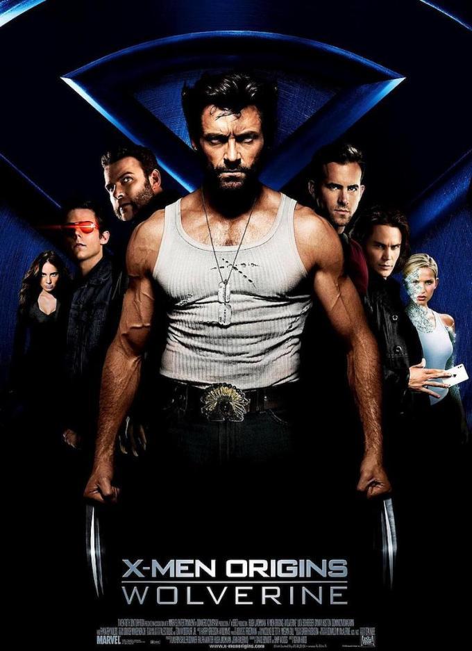 マーベル映画『ウルヴァリン: X-MEN ZERO』の登場人物とポスター画像