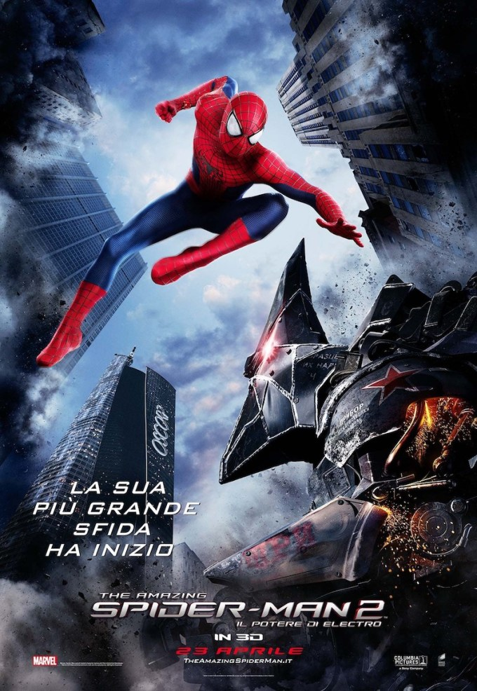 2代目スパイダーマン映画アメイジング・スパイダーマンシリーズの登場人物と画像