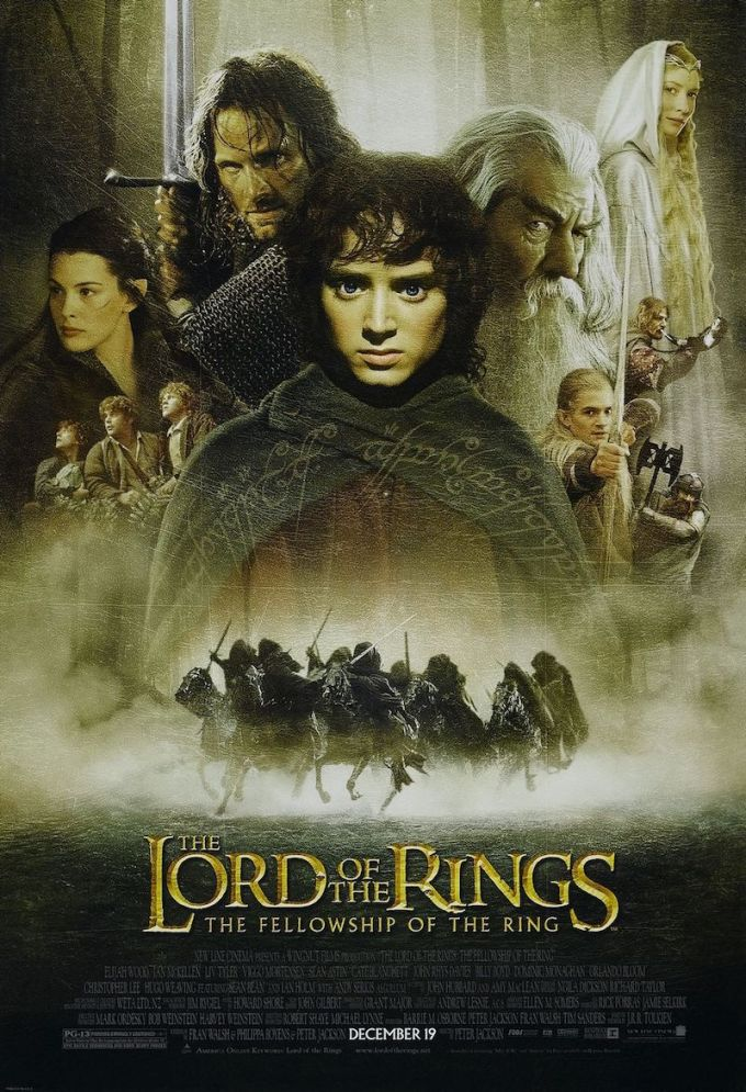 ロード・オブ・ザ・リングのシリーズ映画『ロード・オブ・ザ・リング/旅の仲間』の登場人物と画像
