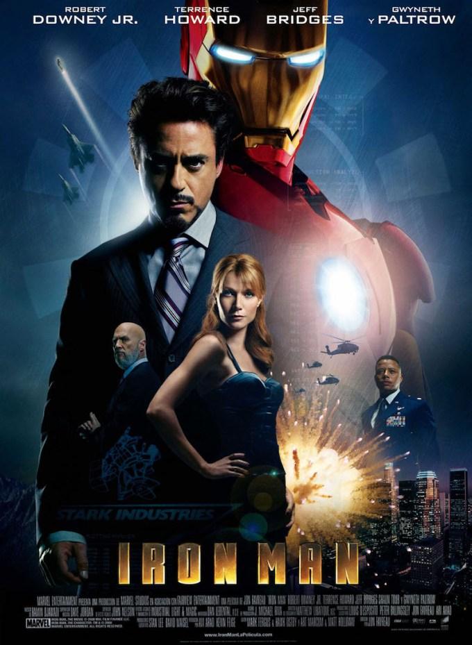 映画『アイアンマン』のポスター画像