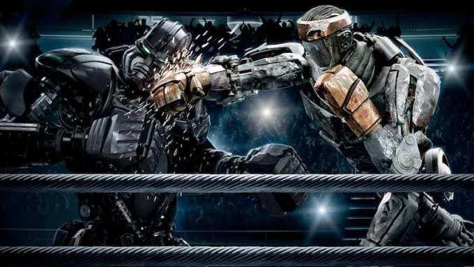 映画リアルスティールが描く未来の格闘技の画像