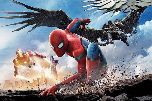 マーベル映画最新作『スパイダーマン:ホームカミング』のポスター画像