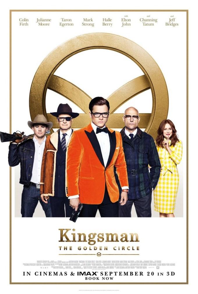 映画シリーズ2作目『キングスマン2:ゴールデン・サークル』のキャストの画像