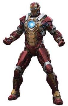 アイアンマンのアーマースーツ「マーク17」の画像