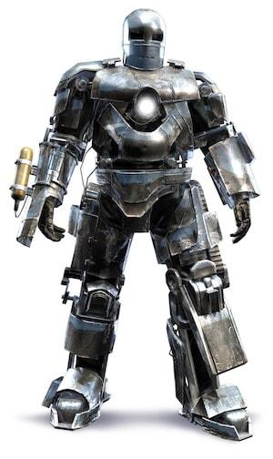 アイアンマンのアーマースーツ「マーク1」の画像