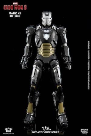 アイアンマンのアーマースーツ「マーク12」の画像