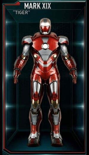 アイアンマンのアーマースーツ「マーク19」の画像