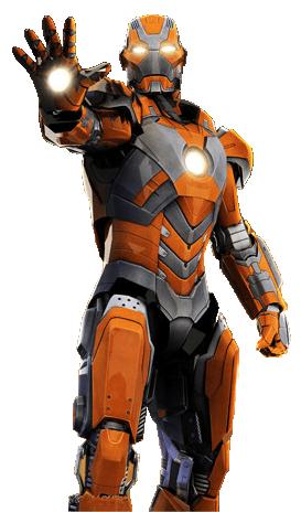 アイアンマンのアーマースーツ「マーク28」の画像